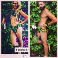 Jarrod allen recreates tinder photos adam and eve