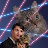 A-kid-and-his-cat