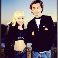 Gwen stefani and gavin rossdale throwback photo