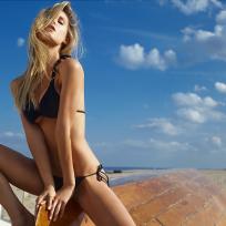 Joy Corrigan Bikini Pic