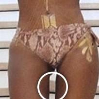 Beyonce: Photoshopped Thigh Gap?