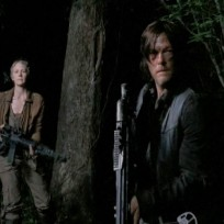 Darryl and carol on the walking dead