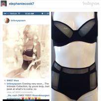 Britney spears lingerie ripoff