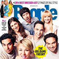 The big bang theory people magazine cover