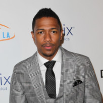 Nick cannon in grey