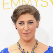 Mayim bialik in blue