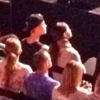 Selena gomez and justin bieber in church