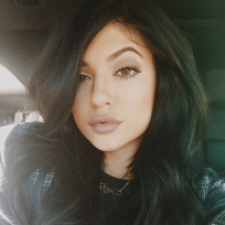 Kylie Jenner: BIG Lips, Long Hair
