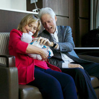 The clintons granddaughter