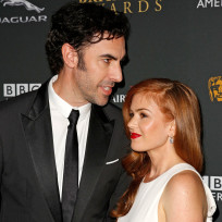 Sacha baron cohen and isla fisher photo