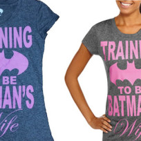 Sexist batman shirts