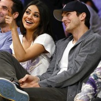 Mila kunis and ashton kutcher photo