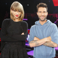 Taylor swift adam levine
