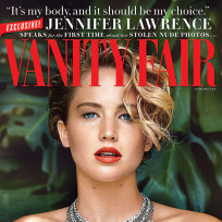 Jennifer Lawrence Vanity Fair Cover Photo