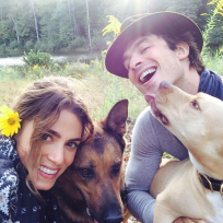 Ian somerhalder nikki reed family