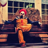 Wasco california clown