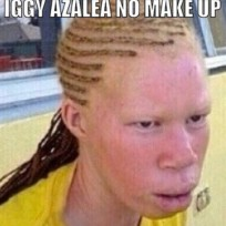Iggy azalea no makeup photo