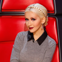 Christina aguilera on nbcs the voice