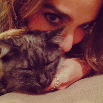 Nikki reed cat photo