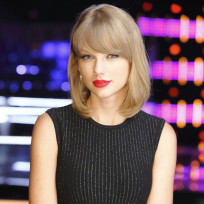 Taylor swift on nbcs the voice