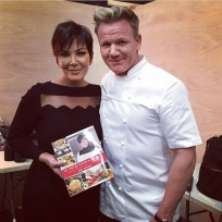 Kris Jenner and Gordon Ramsay Un-Photoshopped