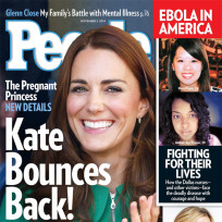 Kate middleton pregnant in people magazine