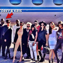Corey gamble with the kardashians