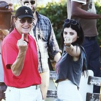 Kylie and bruce jenner eff off