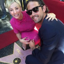 Kaley cuoco walk of fame photo
