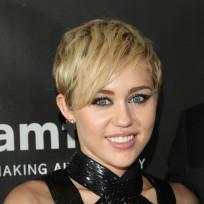 Miley at a Gala