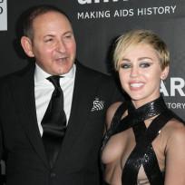 Miley Side Boob Alert!