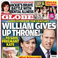 Kate middleton and prince william tabloid cover