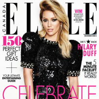 Hilary duff elle cover