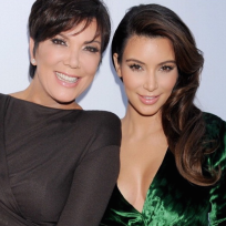 Kris jenner and kim kardashian picture