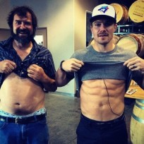 Stephen amell ab attack