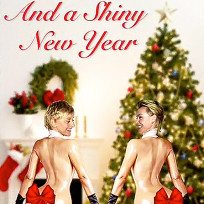 Ellen degeneres and portia de rossi holiday card