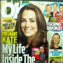 Kate middleton ok cover