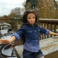 Normal barbie