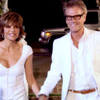 Lisa rinna and harry hamlin on the real housewives of beverly hi