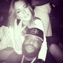 Lindsay lohan and rick ross