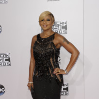 Mary J. Blige at the American Music Awards