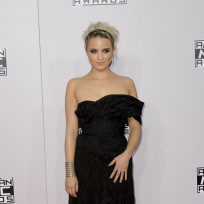 Dianna Agron at the American Music Awards