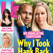 Kendra wilkinson and hank baskett cover