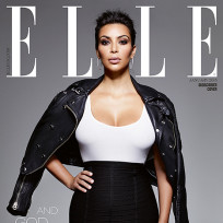 Kim kardashian and her large breasts