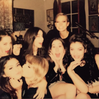 Taylor swift and selena gomez on instagram