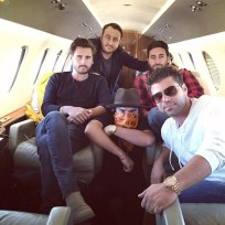 Scott disick heads to vegas