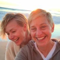 Ellen degeneres and portia de rossi anniversary pic