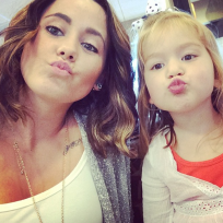 Jenelle evans nathan griffiths daughter