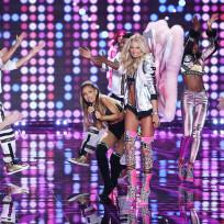 Ariana grande at the victorias secret fashion show