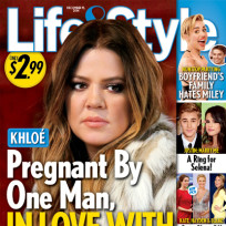 Khloe kardashian life and style cover